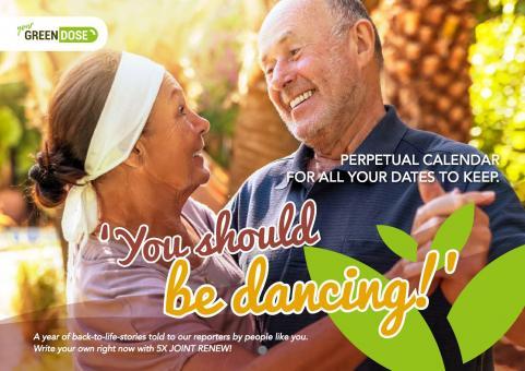 'You should be dancing!' Perpetual Calendar