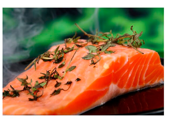 Omega-3 from salmon
